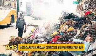 Calles de San Juan de Miraflores se convierten en enormes basureros