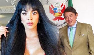 ¿Qué hace Sheyla Rojas en el Consulado peruano de Jalisco?