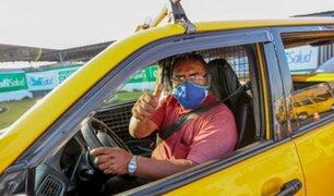 ATU: taxistas obtuvieron gratuitamente Tarjeta de Circulación Electrónica por la plataforma de trámite