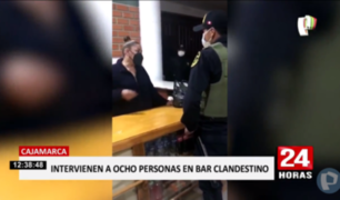Cajamarca: intervienen bar clandestino que era atendido por extranjeras