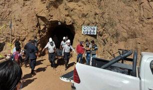 La Libertad: cuatro hombres murieron tras derrumbe de socavón en minera ilegal