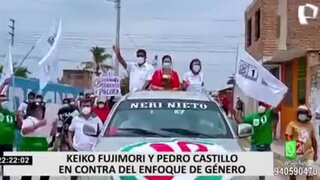 Fuerza Popular y Perú Libre se oponen al enfoque de género pero Verónika Mendoza lo avala