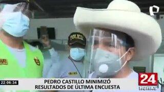 """Castillo: """"Yo las encuestas las palpo y las vivo en la calle"""""""