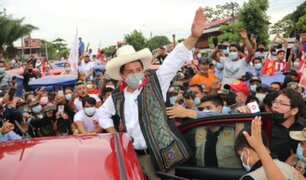 Pedro Castillo niega que en un eventual gobierno vaya a expropiar bienes o propiedades
