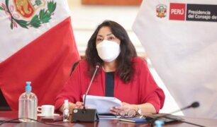 Premier Bermúdez: Gobierno realizará campaña para difundir que vacunas son seguras