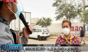 Rímac: mariachi recorre calles saludando a madres por su día
