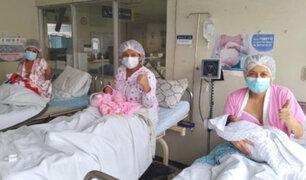 Día de la Madre: tres mujeres dieron a luz hoy en el Instituto Materno Perinatal