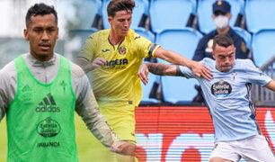 Renato Tapia: Celta de Vigo goleó 4-2 al Villarreal por la fecha 35 de LaLiga