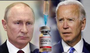 Putin respalda a Biden para suspender patentes de las vacunas anti-COVID