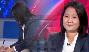 ¡Exclusivo! Keiko Fujimori firmó Proclama Ciudadana