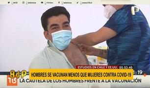¿Por qué los hombres son los que menos se vacunan contra el COVID-19?