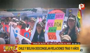 """Chile y Bolivia retoman relaciones bilaterales tras 11 años de """"congelamiento"""""""