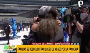 Día de la Madre: familias se reencuentran tras meses alejados por pandemia de la covid-19