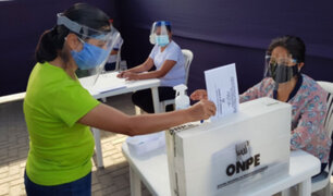 Segunda vuelta: ONPE exigirá uso de doble mascarilla y protector facial para votar