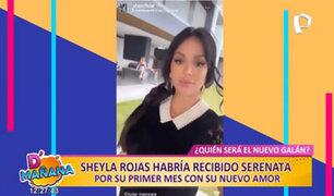 Picantitas del Espectáculo: ¿Sheyla Rojas recibió serenata por primer mes con su nuevo amor?