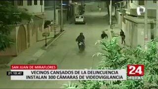 SMP: Vecinos cansados de la delincuencia instalan 300 cámaras de videovigilancia