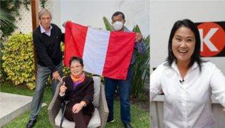 Julio César Uribe y Germán Leguía se reúnen con Susana Higuchi para definir apoyo a Keiko