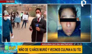 Niño hallado muerto en Huaycán: vecinos culpan a tío por constantes maltratos