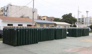 Covid-19: La Libertad adquiere 1,000 balones de oxígeno para distribuirlos a centros de salud