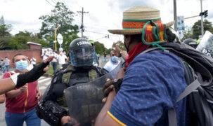 Protestas en Colombia: enfrentamientos entre policías y manifestantes continúan