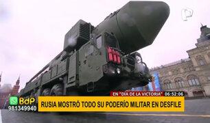 Desfile en la Plaza Roja: Rusia exhibió nuevo armamento militar
