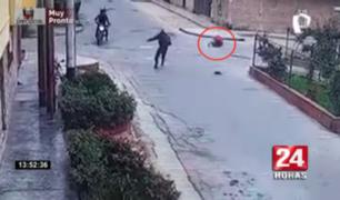 Delincuentes disparan a policía de civil en San Martín de Porres