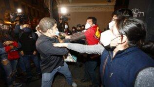 Transparencia pide a Castillo y Fujimori moderar sus mensajes para evitar violencia