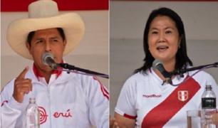 Pedro Castillo no se presentó a debate con Keiko Fujimori frente a  penal Santa Mónica