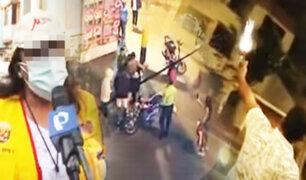 Ate: Vecinos denuncian que extranjeros los amedrentan con disparos en plena vía pública