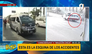 Conozca la esquina de los accidentes en San Juan de Lurigancho