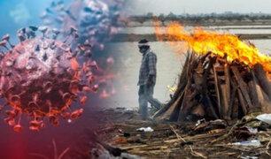 India: decenas de cadáveres aparecen en el río Ganges