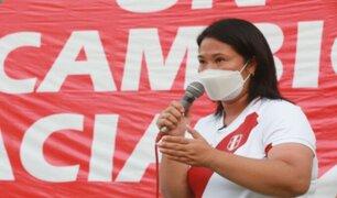 Keiko Fujimori descarta peligro de fuga tras solicitar permiso para ir a evento en Ecuador