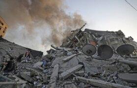 Israel bombardeó oficinas de cadena televisiva de Palestina