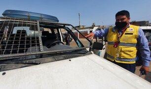 SJM: mototaxistas agreden a personal de fiscalización durante operativo