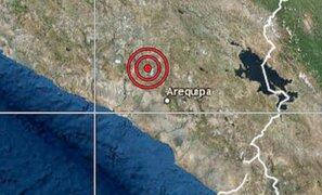 Arequipa: sismo de 4.2 sacudió la región esta madrugada