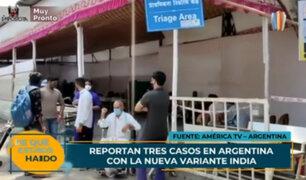 Argentina: detectan por primera vez variantes covid-19 de India y Sudáfrica