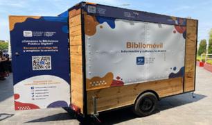 """BNP anuncia el primer recorrido que tendrá el """"Bibliomóvil"""" fuera de Lima"""