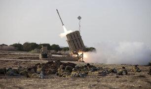 """Continúa bombardeos: Israel usa """"domo de hierro"""" para contrarrestar misiles de Hamás"""