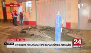 Cercado de Lima: presunta fuga y malas conexiones eléctricas habrían provocado explosión