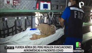 Fuerza Aérea del Perú viene colaborando con sus aeronaves en la lucha contra la COVID-19
