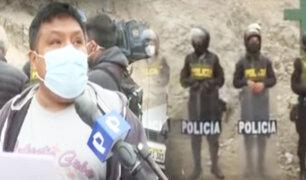 Alistan desalojo de invasores en el Cerro San Cristóbal