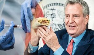 Hamburguesas gratis para quienes se vacunen en Nueva York