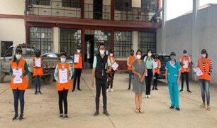 San Martín: brigadas de salud buscan casa por casa posibles casos de Covid-19