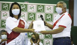 PPC expresa su respaldo a candidatura de Keiko Fujimori para segunda vuelta electoral