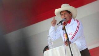Pedro Castillo presentará este sábado su plan de gobierno para los primeros 100 días de mandato