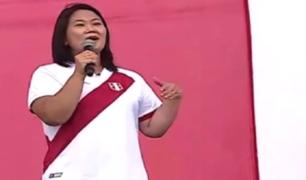 """Keiko Fujimori a Pedro Castillo: """"Si buscó humillarme, se equivocó"""""""