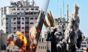 """Israel bombardea sede en Gaza de """"Al Jazeera"""" y de la agencia """"Asociated Press"""""""
