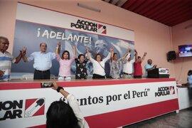 """Segunda vuelta: Acción Popular decide respaldar a la opción """"más cercana a la libertad y la democracia"""""""