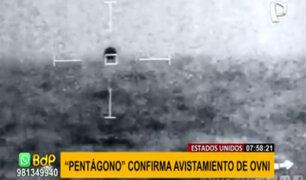 EEUU: Pentágono confirma una vez más el avistamiento de un OVNI