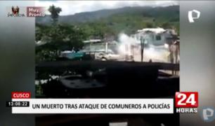 VRAEM: un muerto dejó enfrentamiento entre policías y comuneros